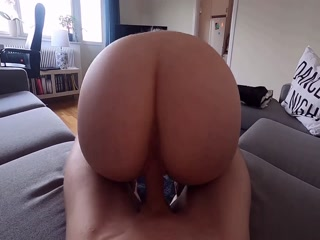 I Love To Fuck My Horny Slut From Behind And Cums Inside Her Wet Cunt