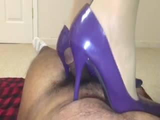 Purple Heels Trampling