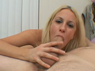 Hot Blonde Amateur Fucked In Her Mouth And Pussy