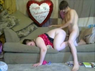 Valentine's Day Creampie