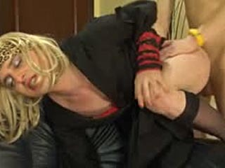 Horny Sissified Guy Sucking A Stiff Boner And Ass-Fucking As A Real Femme