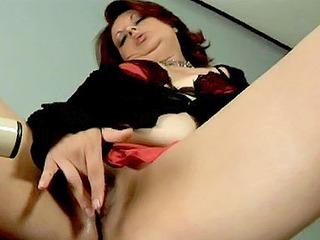 Mature Latina Rubbing Her Pussy