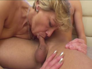 Euro Mature Slut Fucked And Jizzed