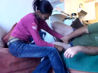 Ballbusting: Mellissa Plays Mercy With My Balls...