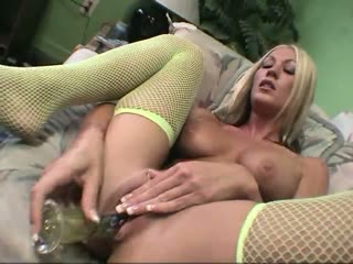 Sexy Blonde Playing With Her Toy