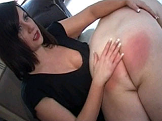 Naughty Woman Spanking Her Husband