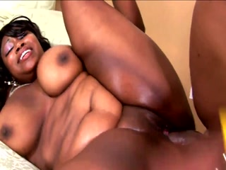 Huge BBW Ebony Enjoys An Intense Pussy Fucking