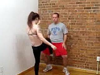 Cardio Kickboxing/Ballbusting W/Mistress Varla