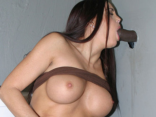 Cheyenne Hunter Gets A Huge Black Dick In Her Mouth