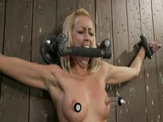 Blonde Tied Up And Get Fucked