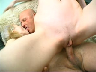 Old Man Fucks Two Sexy Teens