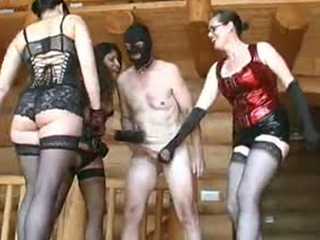 Voluptuous Mistresses Torture Balls