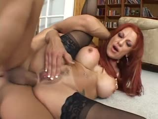 Redhead MILF Shannon Kelly getting analed