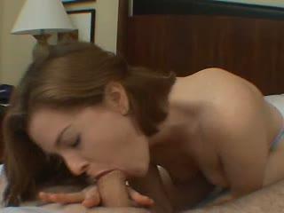 Keiko sucking a hard cock
