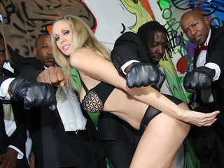 Julia Ann loves them black and huge