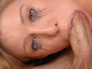 Deepthroating A Blonde Teen