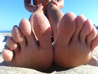 Beautiful Sandy Feet