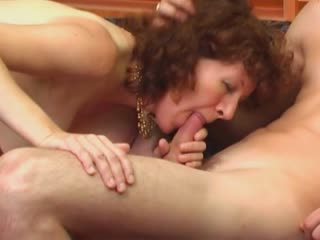 Hairy Mature Pussy Gets A Hard Dick