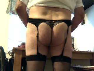 Slutty In Nylons And Garters
