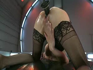 The Queen: Cytherea Meets The Machines With Her Pussy