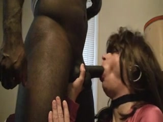 Amateur CD Fucked By Black Cock