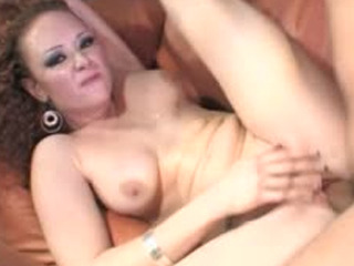 Sexy Redhead Audrey Hollander Takes It In All Holes