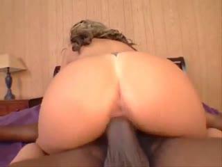 Big booty Asian slut loves a black cock