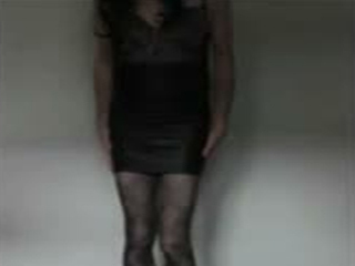 Me In Leather Skirt