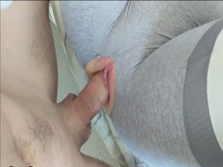 I Fuck My Fit Babe Through Ripped Panties