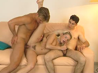 Two Dudes Share A Blonde