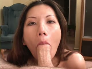 Hot Asian Girl Sucking Dick