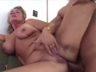 Blonde Cougar Gets Banged By Naughty Stud