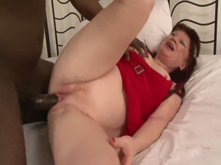 A black cock for the horny redhead