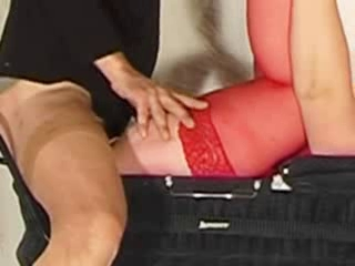 Crossdresser Fuck Mature In Carriage