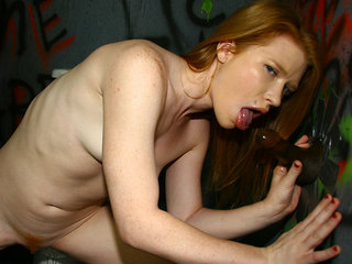 Madison Young At The Gloryhole