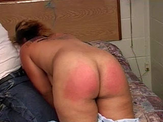 Guy Hands Over His Ebony Girlfriend To His Friend For Fucking And Spanking Pleasure