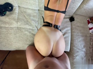 I Fuck My Horny Slave From Behind And Cum On Her Hot Ass