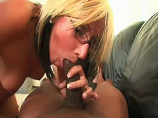 Bonde Enjoys A Big Load In Her Pussy