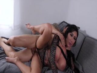 Tattooed Hooker Getting Warm Jizz On Her Tits