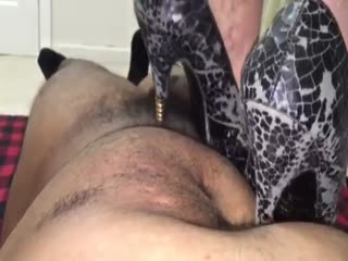 Black Metal Heels Trampling Part 2
