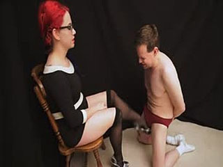 Deanna Deadly Ballbusting The Copy Boy