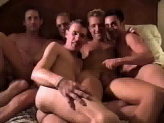 Group Of Guys Suck And Jerk Each Other