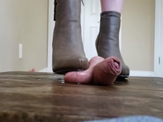 GF Ballbusting Boot Trample