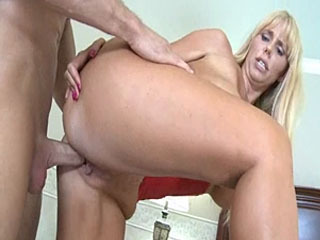 Hot Blonde Karen Fisher Has Sex With A Younger Guy