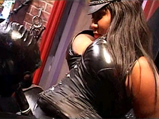 Watch Maggot Slaves Satisfy Bossy Ebony Mistress