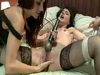 Cornudo Realiza El Lesbianas Manera!