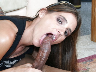 Cherie And A Black Cock