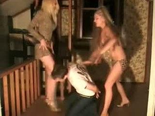 Hot Girls Kicking A Guy