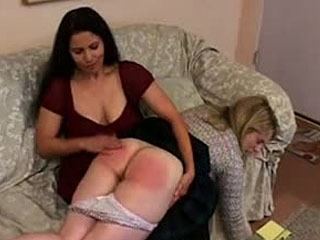 Amy Hunter Receives A Resounding Spanking