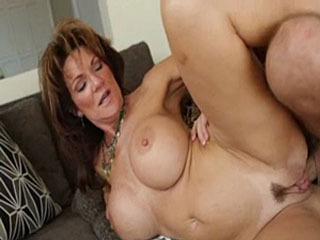 Busty Cougar Deauxma Enjoys A Hard Cock
